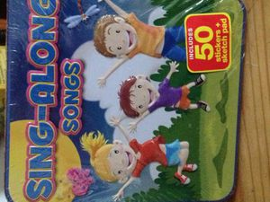 Sing-Along Songs [Tin With Sketch Pad]
