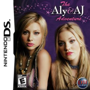 The Aly And AJ Adventure  for Nintendo DS