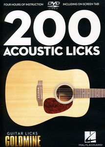 Guitar Licks Goldmine: 200 Acoustic Licks