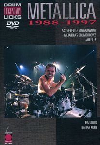 Metallica: Drum Legendary Licks 1988-1997