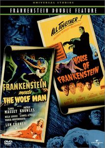 Frankenstein Meets Wolf Man & House Frankenstein