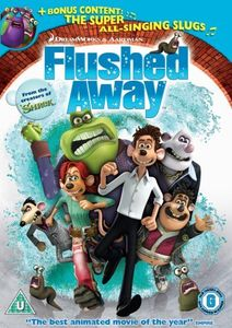 Flushed Away [WS] [With 2 Kung Fu Panda Pins] [Sensormatic]