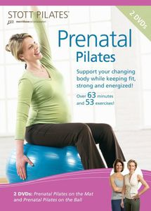 Stott Pilates: Prenatal Pilates Two DVD Set, Eng /  Fr