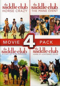 Saddle Club 4 Pack