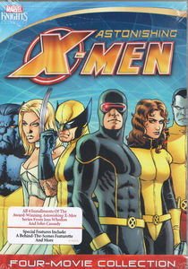 Marvel Knights X-Men Four Films (Dangerous/ Gifted/ Torn/ Unstoppable)