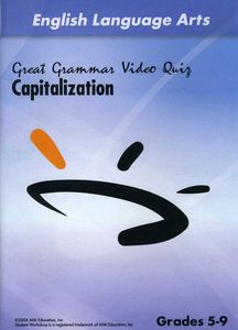 Capitalization Video Quiz