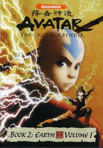Avatar Book 2, Vol. 1: The Last Airbender - Earth [Full Screen] [Japanimation]