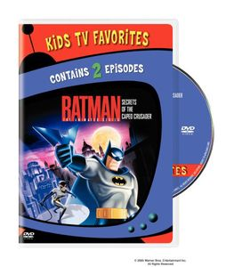 Batman The Animated Series: Secrets Of The Caped Crusader #1 [Kids TVFavs] [Standard] [2 Episodes]