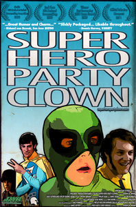Super Hero Party Clown