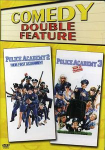 Police Academy 2/ Police Academy 3 [Double Feature] [Double Amaray Case]