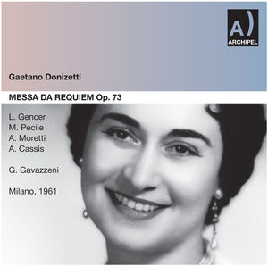Messa Da Requiem: Gencer