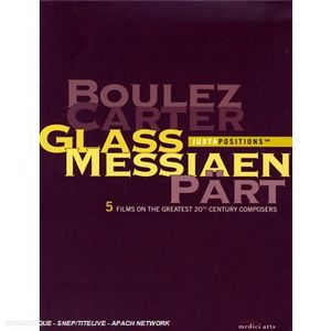 Juztapositions Box: Boulez Carter Glass Messiaen