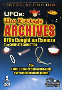 UFOs: The Footage Archives - UFOs Caught On Camera 1950-2000 [5 Discs][Documentary]