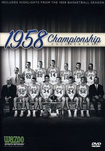 1958 NCAA Mens Basketball University of Kentucky
