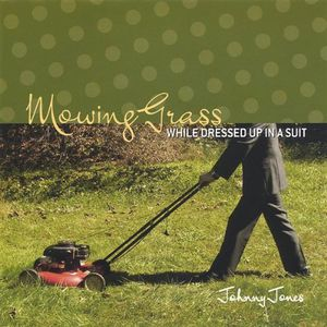 Mowing Grass While Dressed Up in a Suit