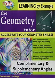 Geometry Tutor: Complimentary and Supplementary Angles
