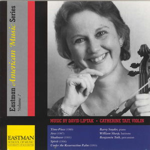 Music for Violin Eastman American Music Series 7
