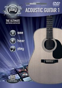 Alfred's PLAY Series Acoustic Guitar, Vol. 1