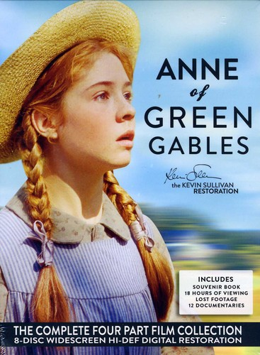 Anne of Green Gables: The Kevin Sullivan Restoration: The Complete Four Part Film Collection