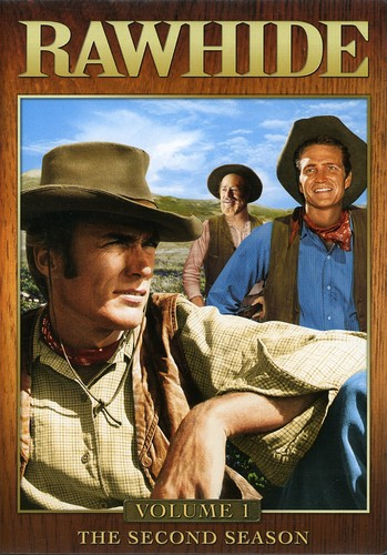 Rawhide: Second Season, Vol. 1 [Full Frame] [4 Discs] [Sensormatic]