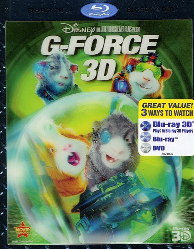 G-force [2009] [3D] [WS] [3D Blu-ray/ 2D Blu-ray/ DVD]