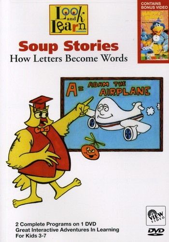 Look & Learn: Soup Stories - How Letters Become