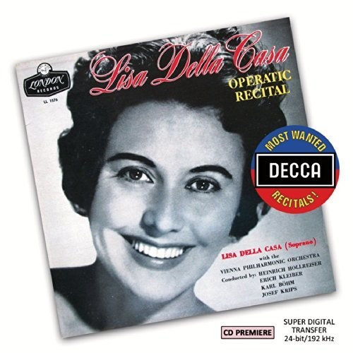 Most Wanted Recitals: Lisa Della Casa - Operatic