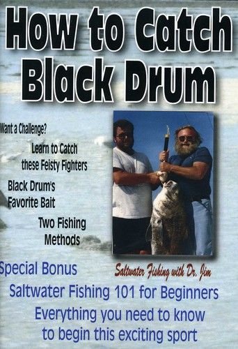 How to Catch Black Drum & Fishing 101 for Beginner