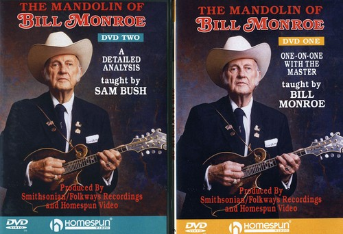 The Mandolin Of Bill Monroe [2 Discs] [Instructional]