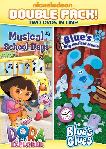 Dora and Blue's Clues Double Feature: Dora Musical School Days/ Blue'sBig Musical Movie