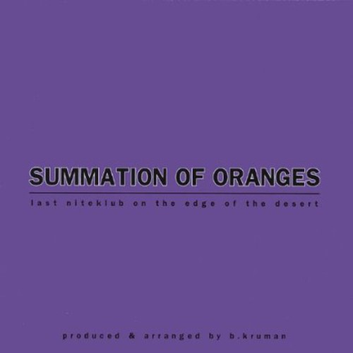 Summation of Oranges