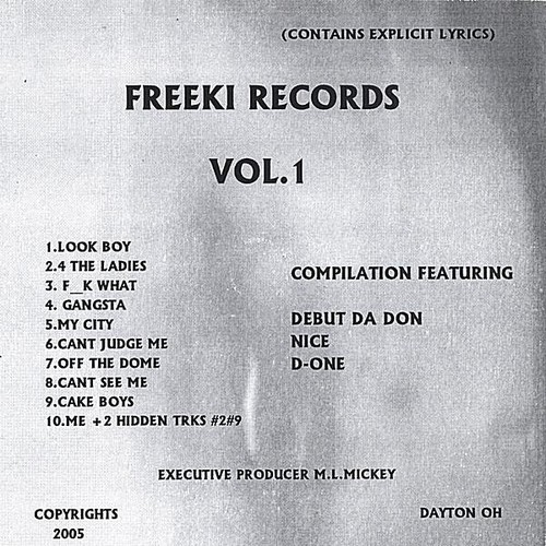 Freeki Records 1