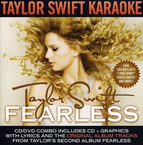 Fearless - Karaoke [CD+G/ DVD Combo With Lytics]