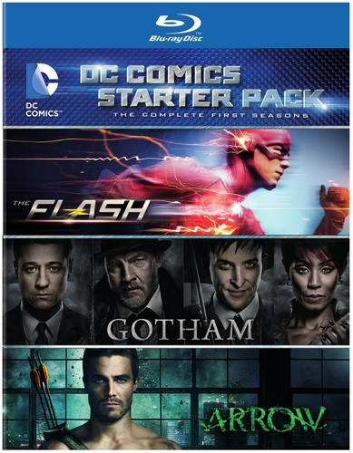 DC Comics Starter Pack: The Complete First Seasons: The Flash/ Gotham/ Arrow