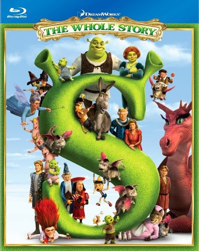 Shrek The Whole Story Quadrilogy [WS] [4 Discs] [Slipcase] [J-Card] [Giftset]