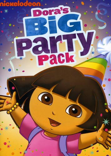 Dora's Big Party Pack [Full Frame] [3 Discs] [Slipcase]