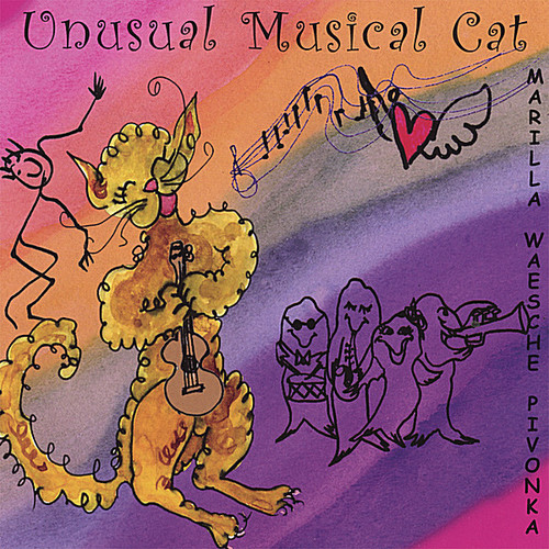 Unusual Musical Cat
