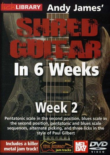 Andy James Shred Guitar in 6 Weeks: Week 2