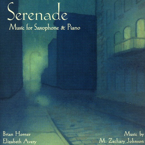 Serenade-Music for Sax & Pno