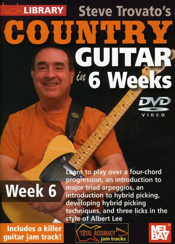 Trovato, Steve Country Guitar in 6 Weeks: Week 6