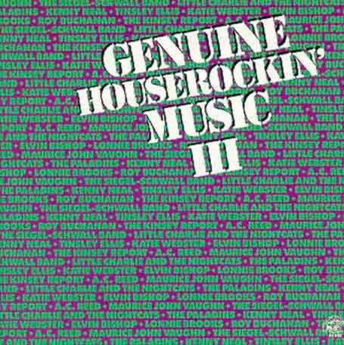 Genuine Houserockin Blues 3 /  Various
