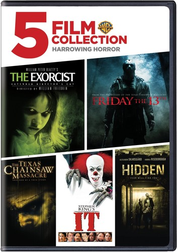 5 Film Collection: Harrowing Horror Collection