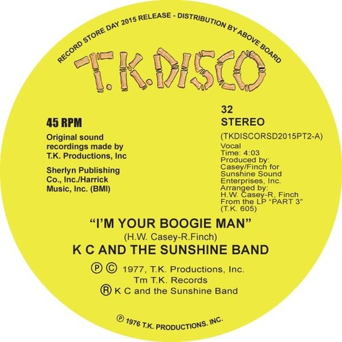 I'm Your Boogie Man (Todd Terje Edit)