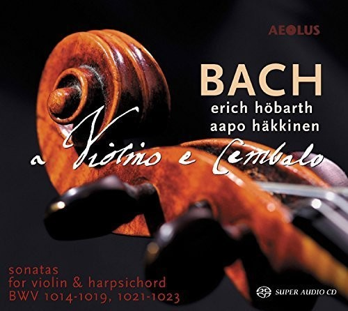 Bach: Sonatas for Violin & Harpsichord