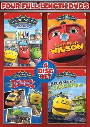 Chuggington: 4-Disc Set