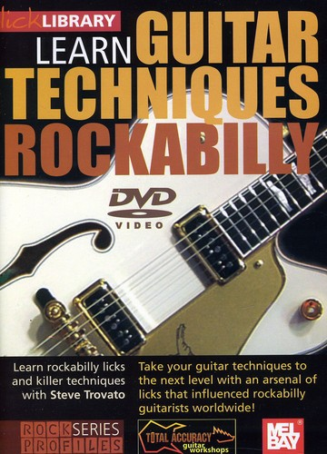 Learn Guitar Techniques: Rockabilly Brian Setzer Style