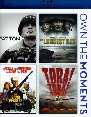 Patton/ The Longest Day/ The Sand Pebbles/ Tora! Tora! Tora!