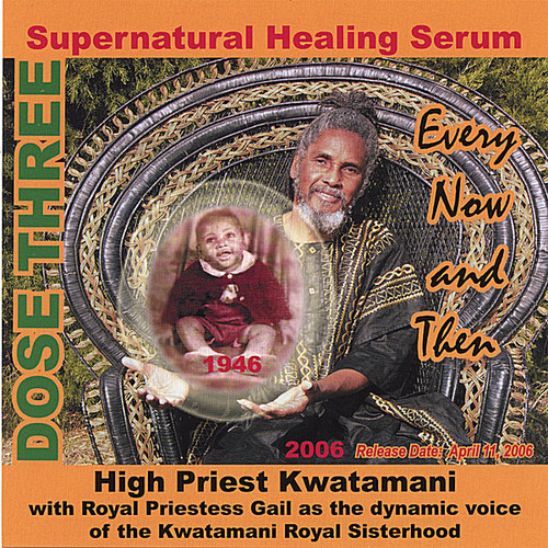 Supernatural Healing Serum: Dose Three Every Now &