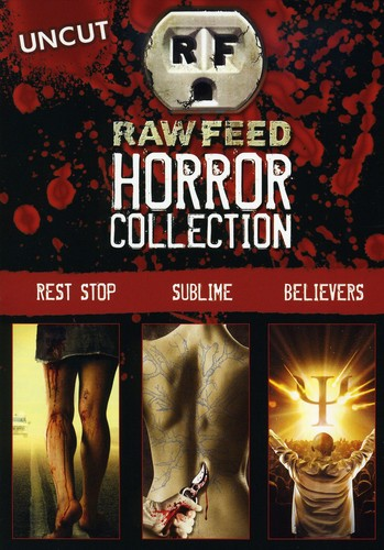 Raw Feed Horror Collection [Gift Set] [3 Discs] [Slim Packs] [Slipcase]