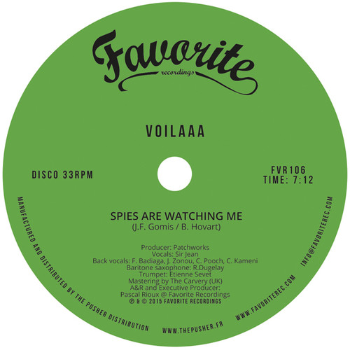 Spies Are Watching Me /  Le Disco Des Capitales